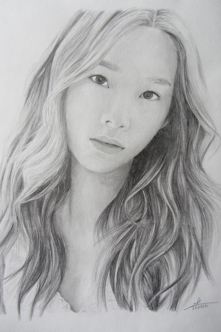 Taeyeon (Girls'Generation) - A3 - Crayon