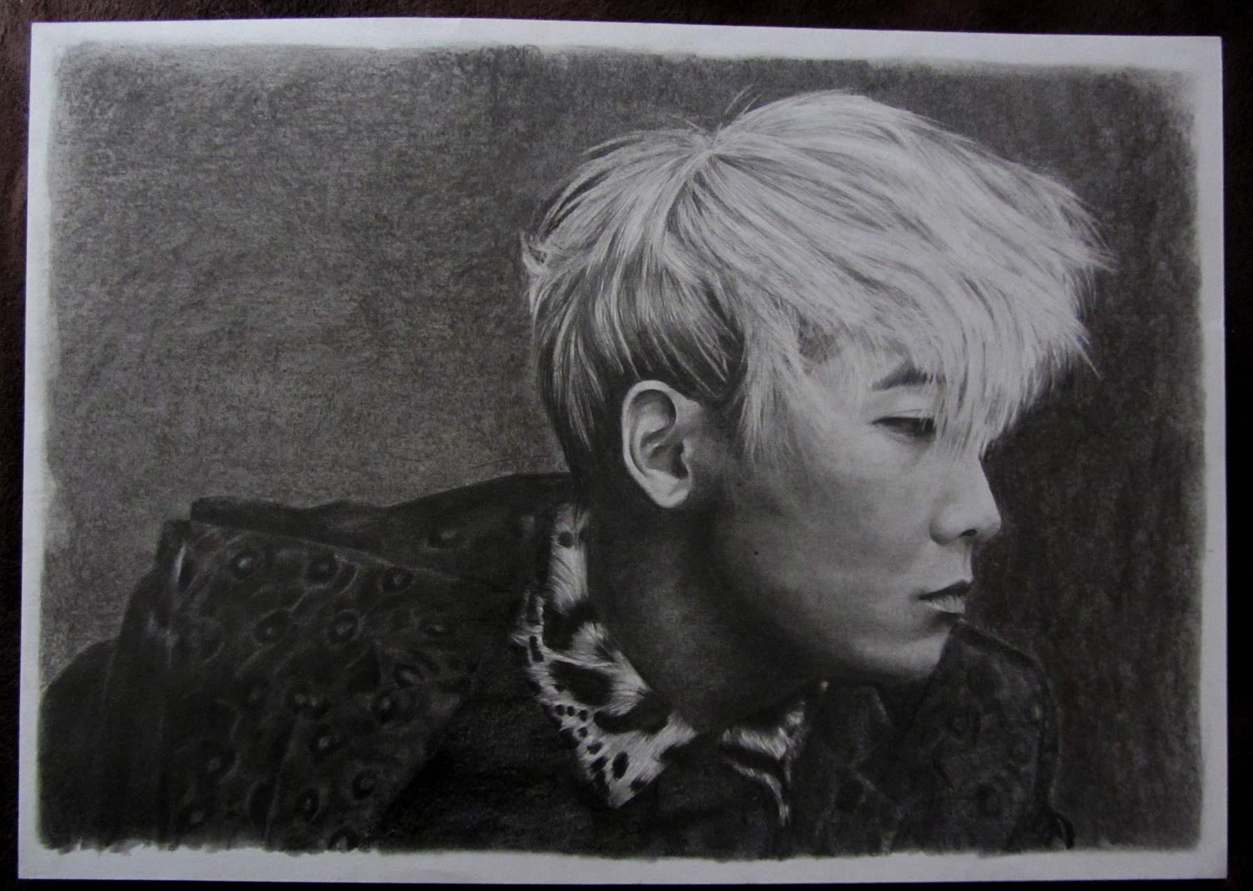 Lee Hong Ki (FT Island) - A3 - Crayon & Fusain