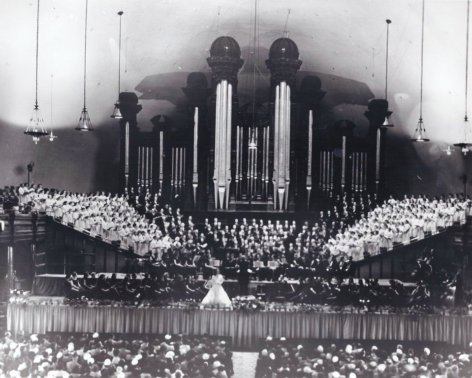 Farewell concert at the Tabernacle