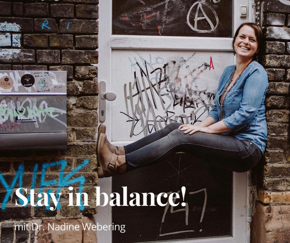 #51 Happy birthday - Stay in balance! wird 1 Jahr