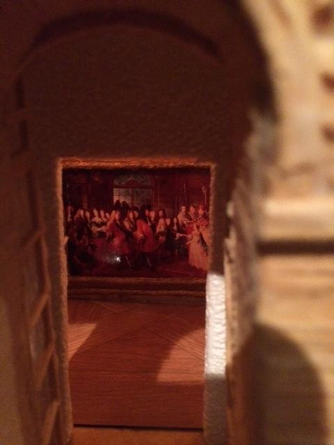 et les intérieurs du chateau ...