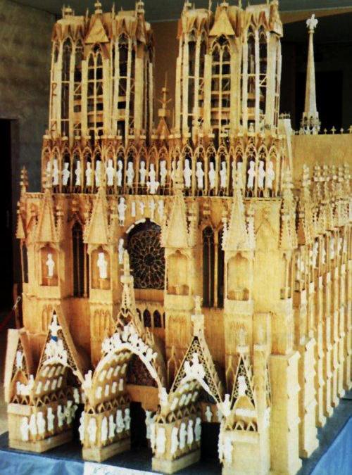 la Cathédrale de Reims...
