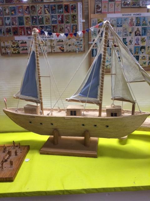 maquettes de bateaux ...
