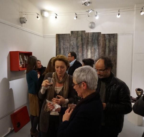 Cécile Bourdais à la Galerie Le Marais