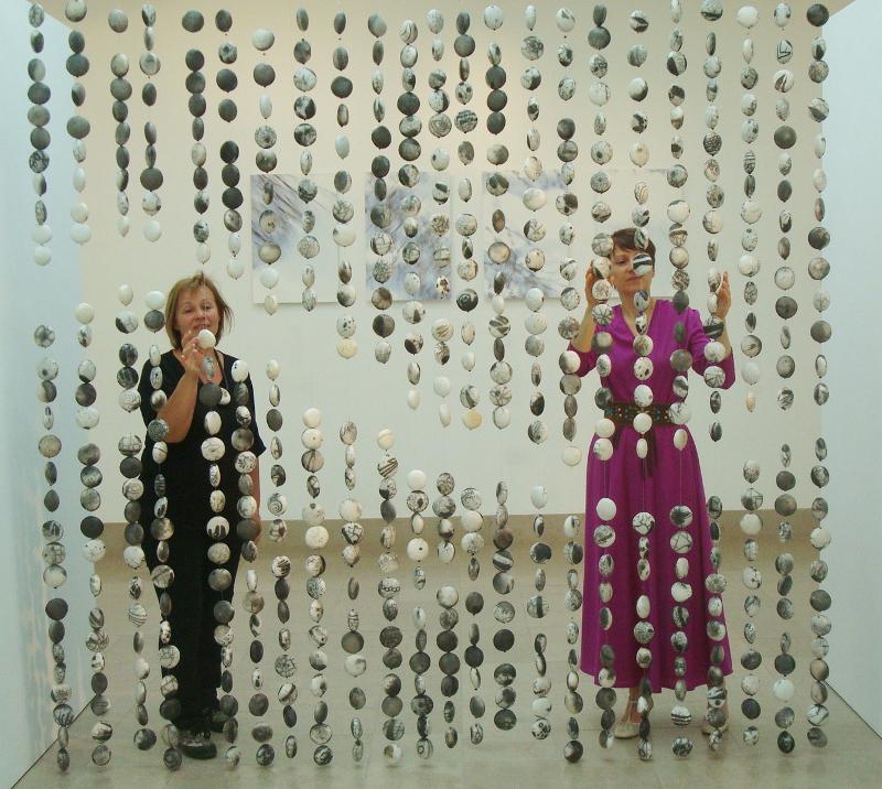 Anne-Marie Kelecom et Valérie Loron à Montluçon