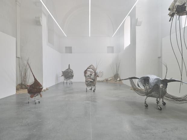 Enigme Cousteau, Eléonore Saintagnan, 2021, Centre d'art contemporain Les Capucins, Embrun ©f.deladerriere