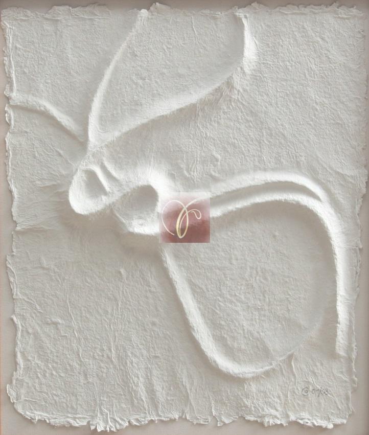 """Bachblüten-Essenz """"Buche"""" als Symbol - handgeschöpftesund geprägtes Papier, von SUSHMA Cornelia Bühler"""