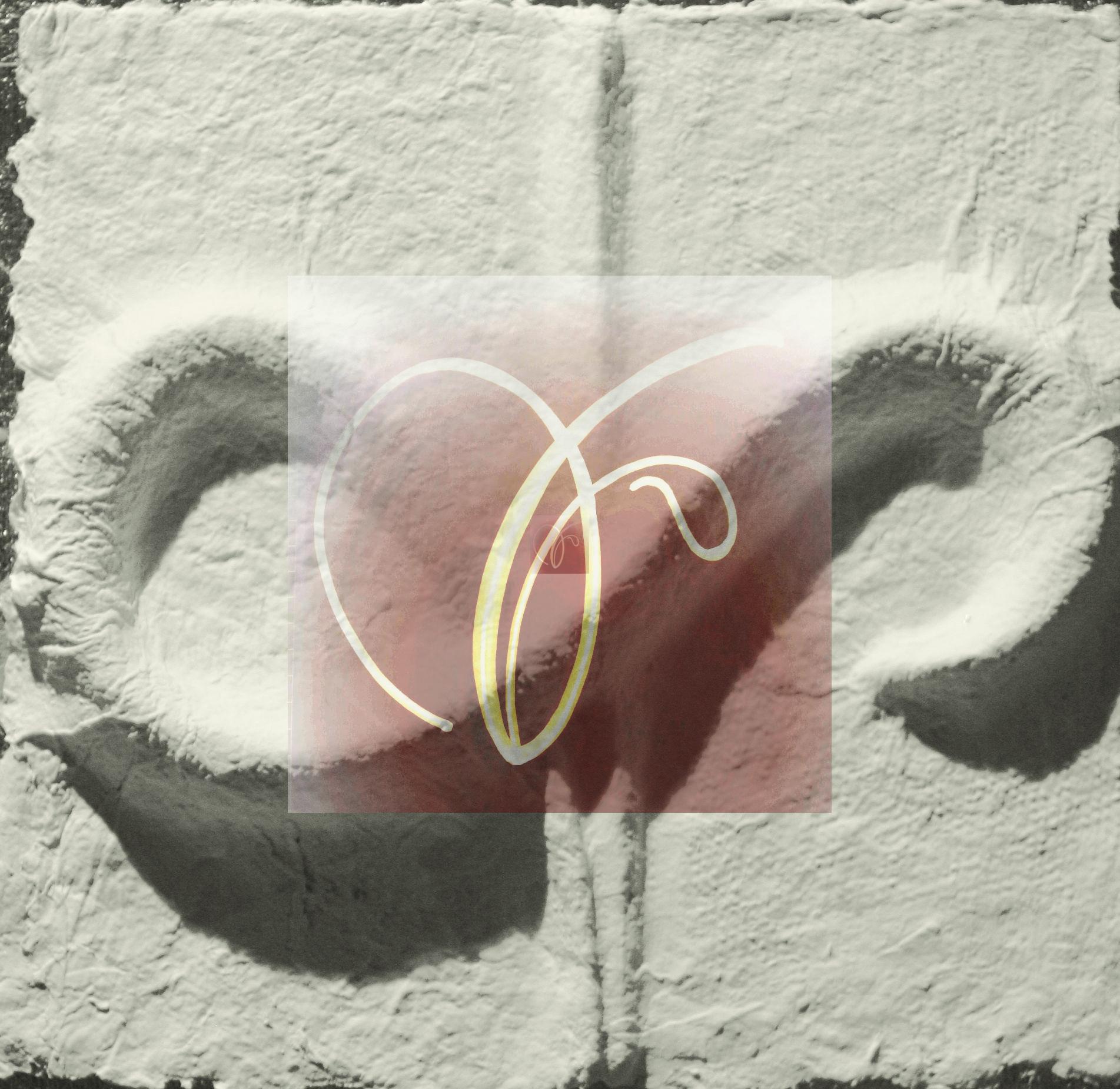 Sternzeichen Waage - handgeschöpftes geprägtes und energetisiertes Papier
