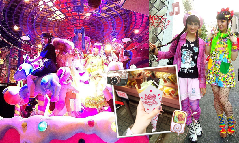 68b7a047ee On our tours, we will show you Takeshita Street, where young people that  wear colorful fashion gather; as well as the 'Kawaii Monster Café' which  offers a ...