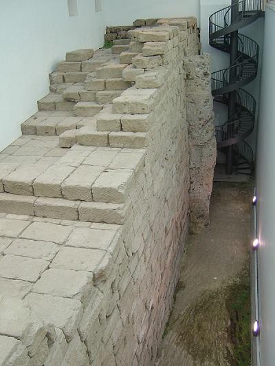 foundations  Temple of Jupiter Capitolinus rome