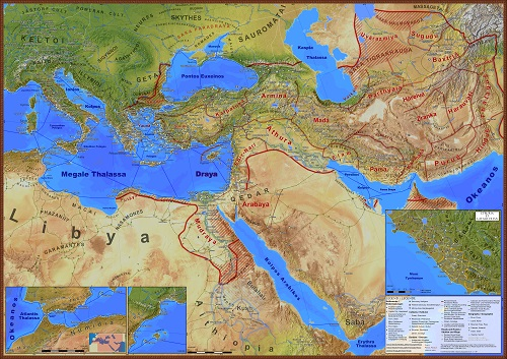 Persian Empire map