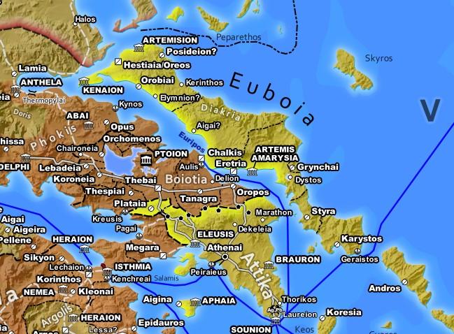 Classical Attica and Boitia