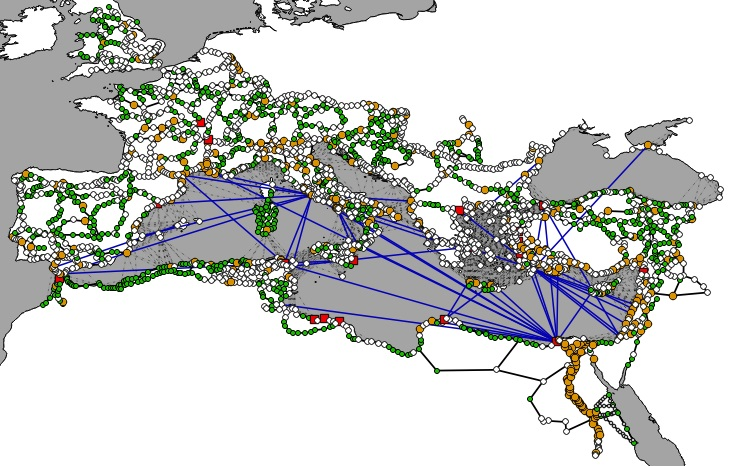The finished network for our simulations