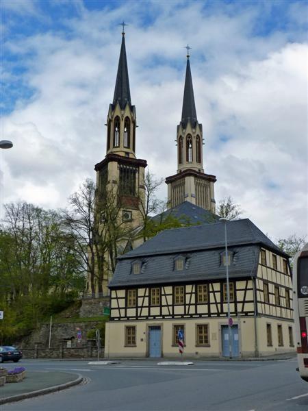 Kirche und Zoephelsches Haus