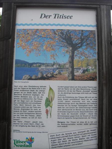 Der Titisee - Touristenhochburg