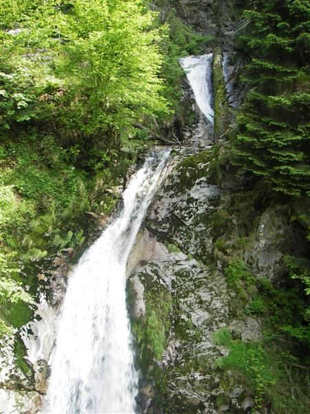 Die Allerheiligenwasserfälle - 100 m Gefälle