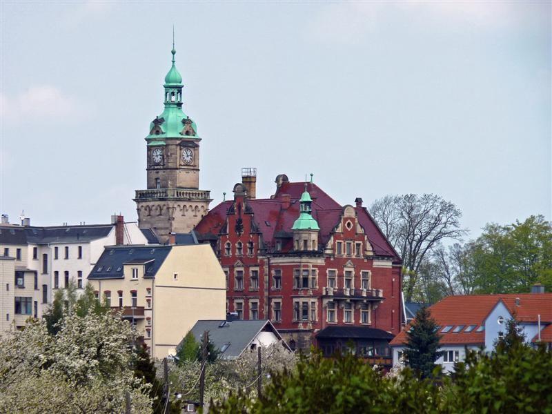 Das Schloß in Falkenstein