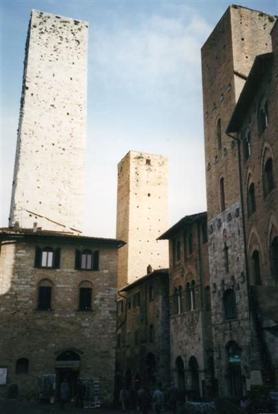 San Gimingiano - die Statd der 14 Geschlechtertürme
