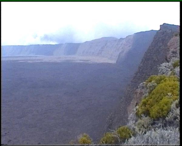 Mondlandschaft der Vulkankrater