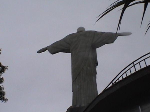 Die Christusstatue auf dem Corcovado
