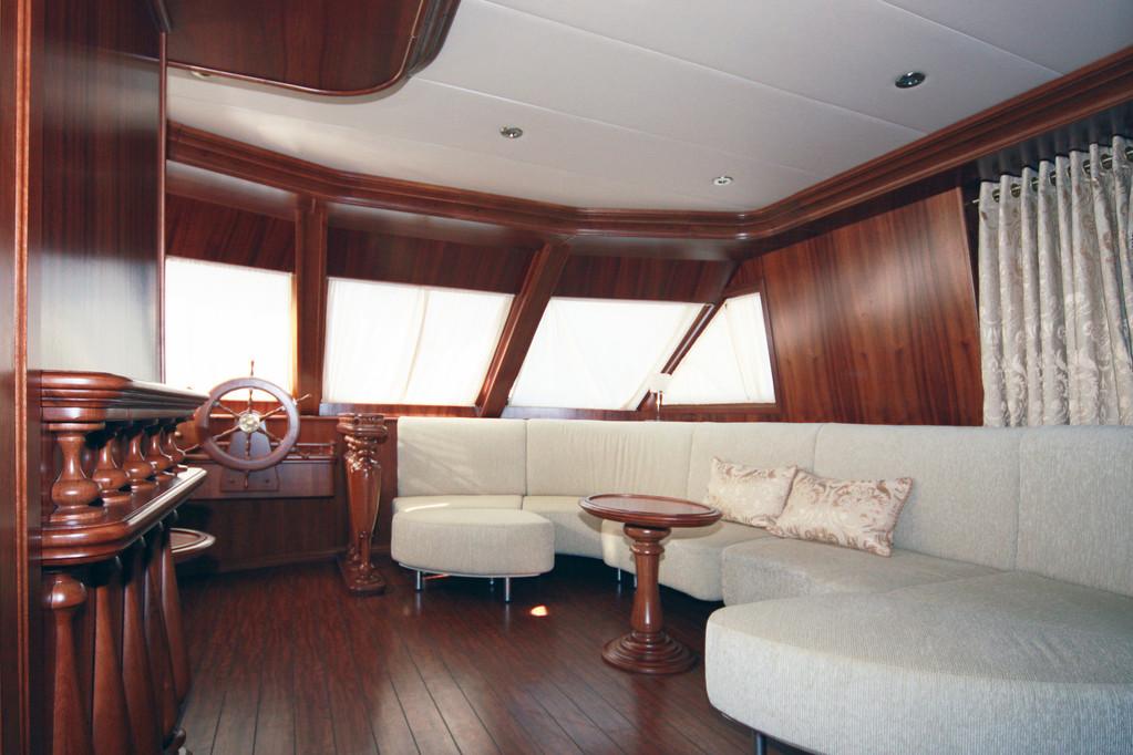Внутренний дизайн яхты.