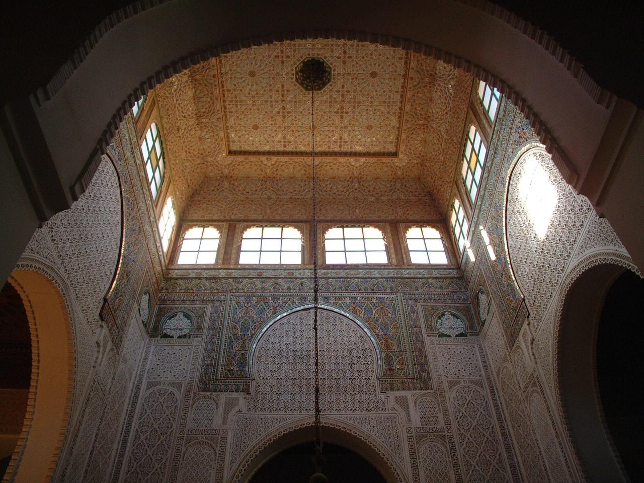 Mausoleum van Moulay Ismaïl in Mèknes, Marokko.