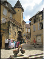 Centrum Sarlat.