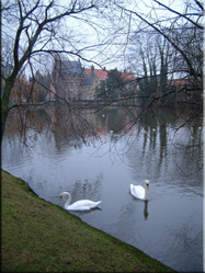 Minnewater nabij de Begijnhof