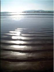 Ondanks dat er op het strand vaak een stevige wind waait is het een heerlijke plek voor een ontspannen wandeling (zeker in de winter) langs het water.