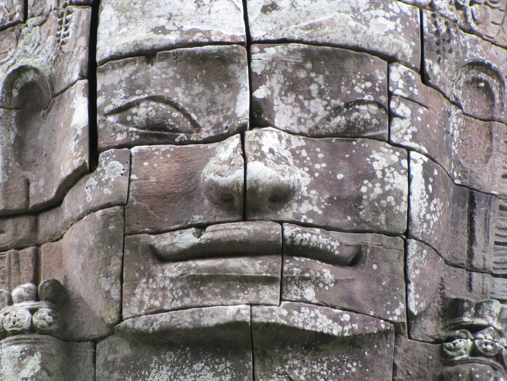 Angkor, deel van de wereld erfgoedlijst in Siem Reap, Cambodja.