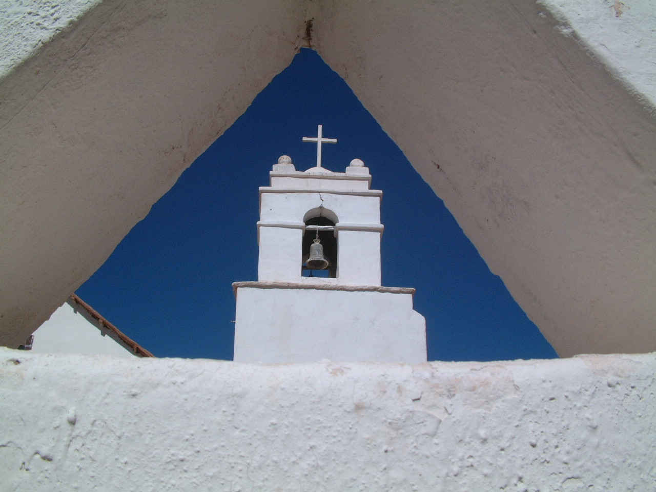 Kapel in San Pedro de Atacama, Chili.