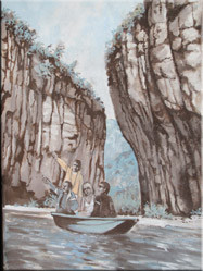 Schilderij du Tarn