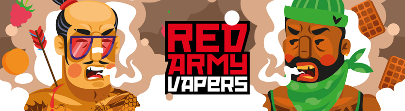 redarmyvapers, vapers, code501, illustration
