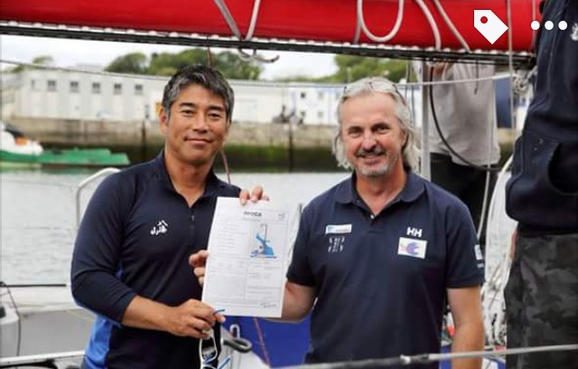 Got IMOCA Certification