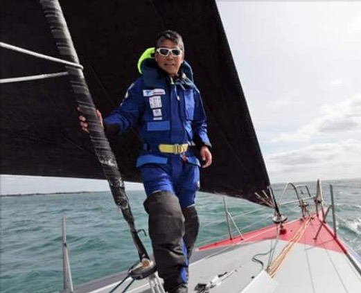 First Sailing after a Mast Standinng Rig