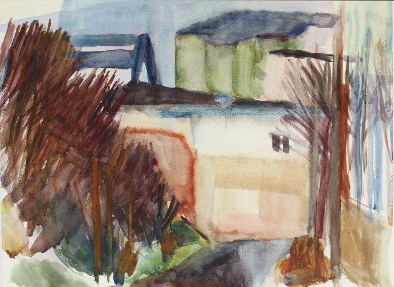 Potsdam-West  Aq. 35,5 x 47 cm