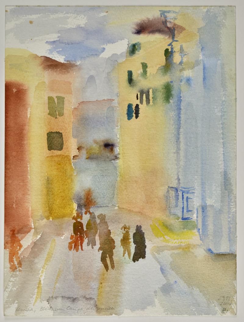 Venezia Blick zum Campo dei Gesuilti 31,5 x 24 cm
