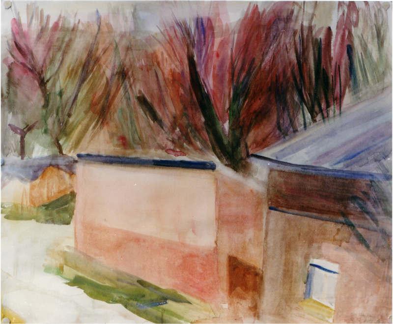 Von Utes Haus 48 x 58,5 cm