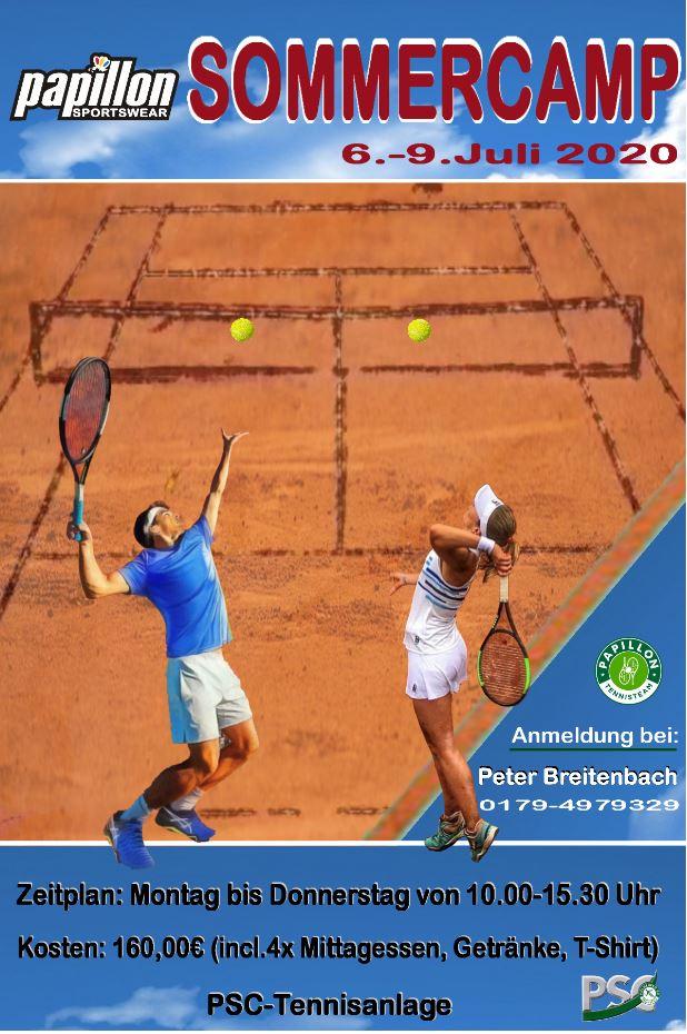Tenniscamps für die Jugend