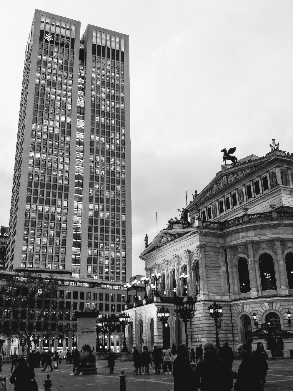 Alte Oper und Opernturm