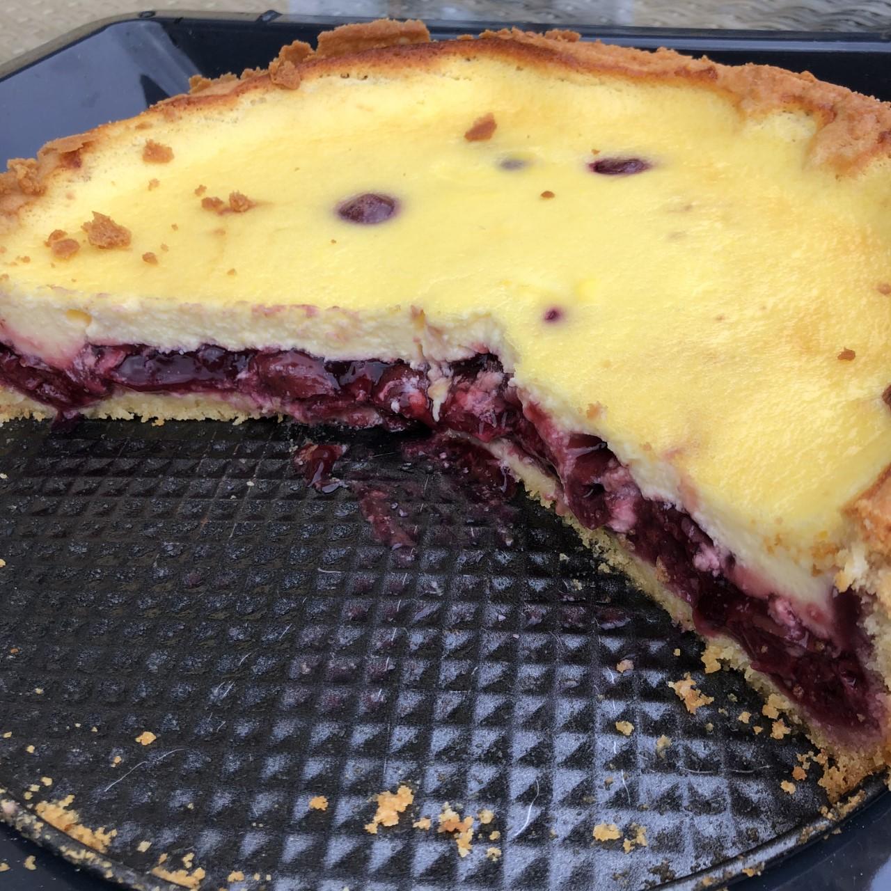 Topfen-Kirsch-Kuchen