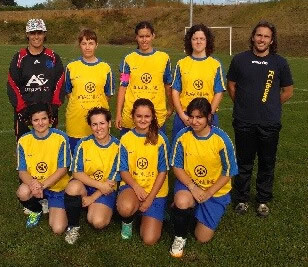 Les séniors féminines du F.C. Ciboure