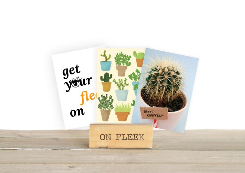 On Fleek - Ansichtkaart als gastontwerper bij Ploff!