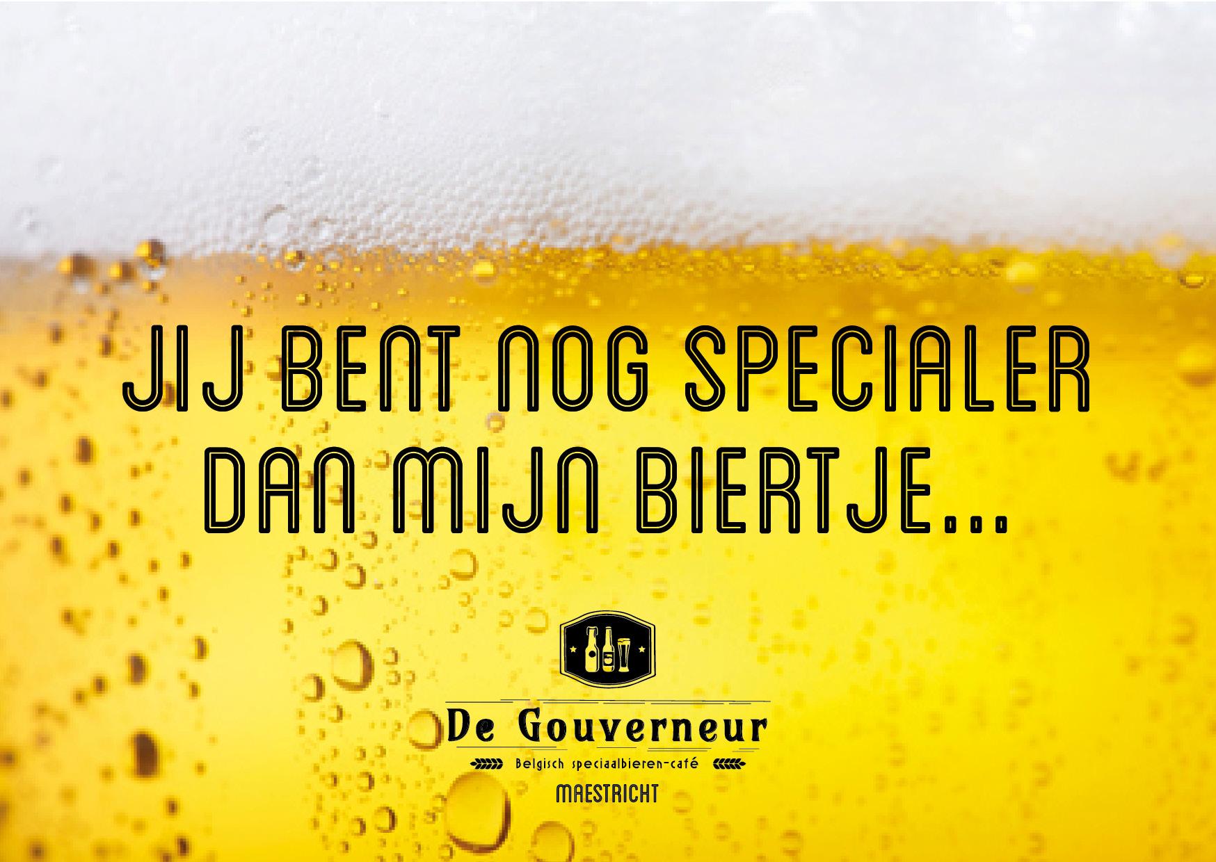 Biertaverne de Gouverneur -  Ansichtkaart - Bier