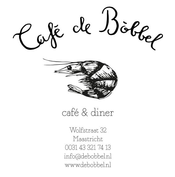 Cafe de Bóbbel - Maastricht - Huisstijl