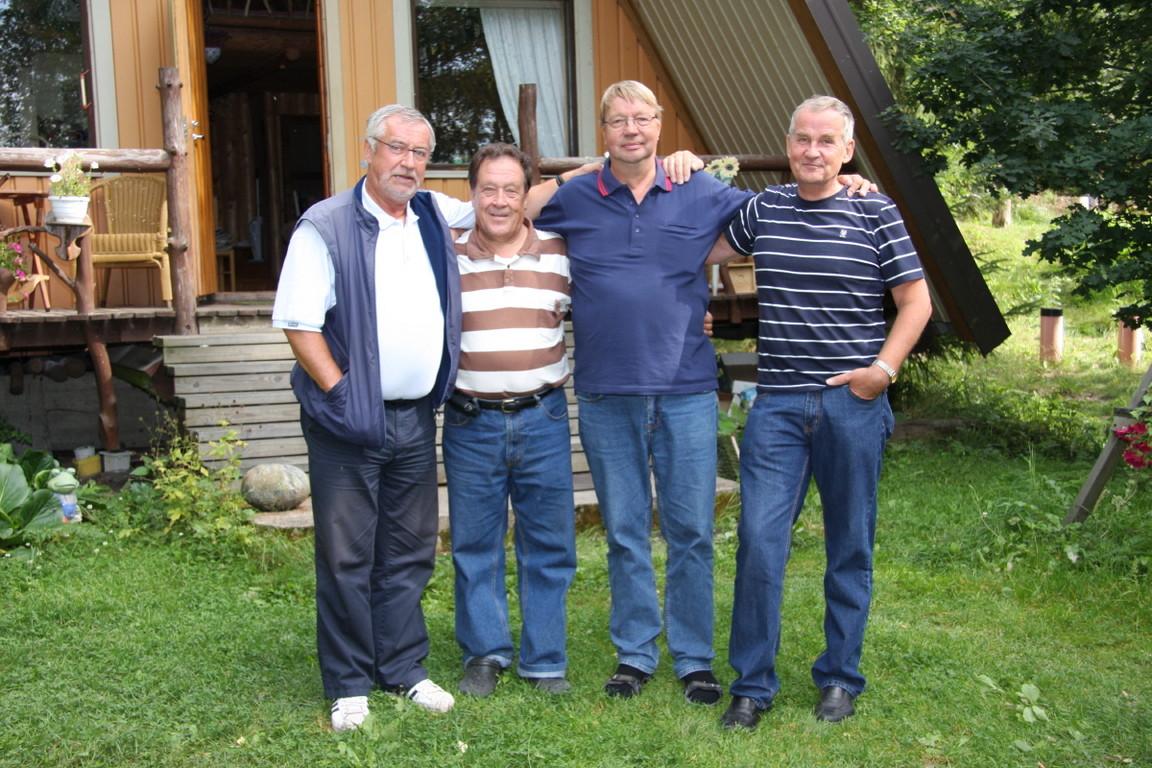 Paavo Mauro, Rauno Aaltonen, Niilo Hentunen, Jukka Soini
