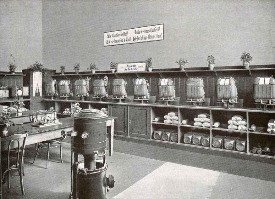 Rettungsstelle Zeche Erin in Castrop-Rauxel  1930