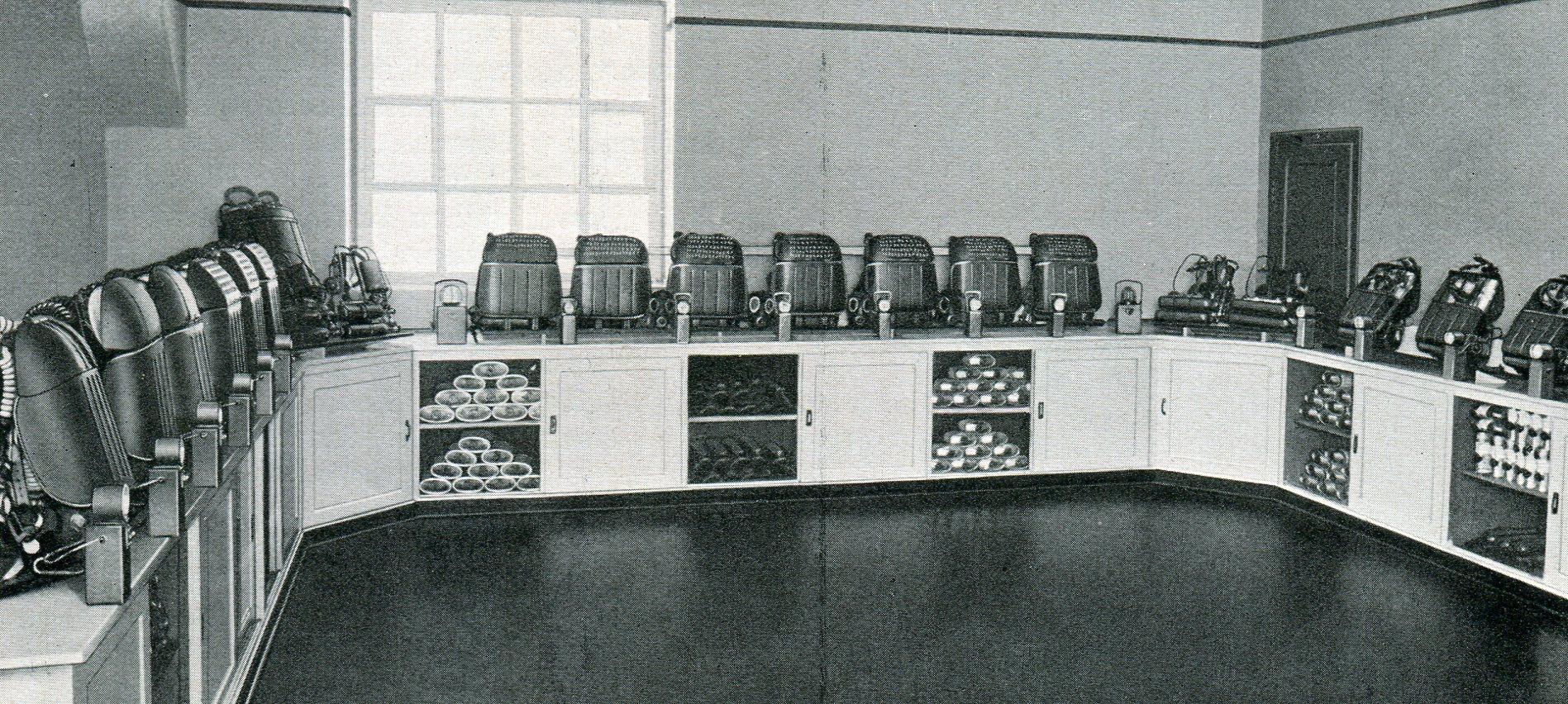 Gerätelager Unfallhilfestelle der Deutschen Knappschafts-Berufsgenossenschaft in Zwickau  1927