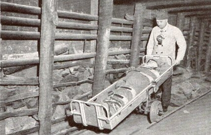 Transportbock für Schleiftragen  1934