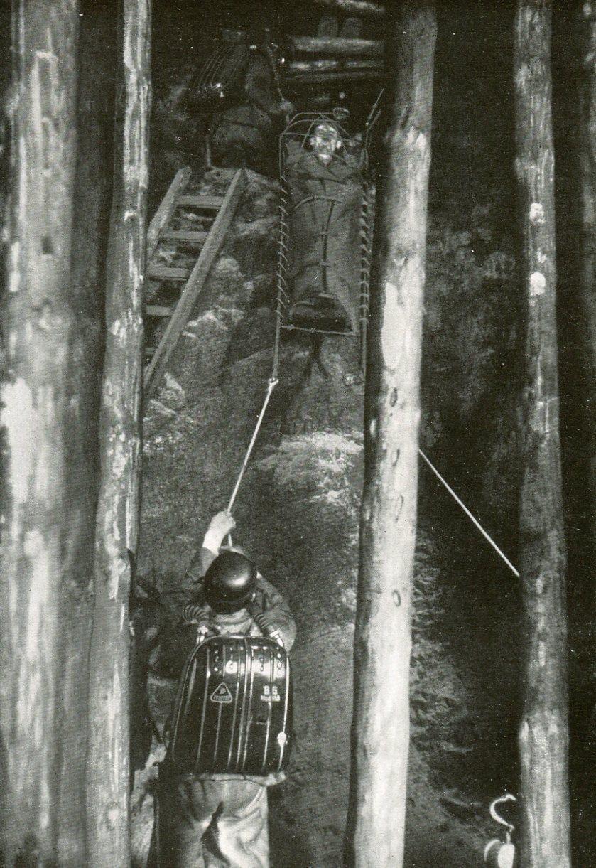 Grubenwehrübung Grube Königin Luise   1936